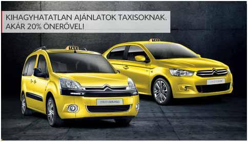 Citroen taxi